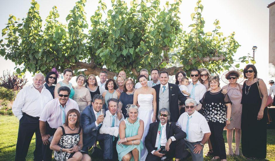 La boda de Mark  y Bibiana  en Montbrio Del Camp, Tarragona