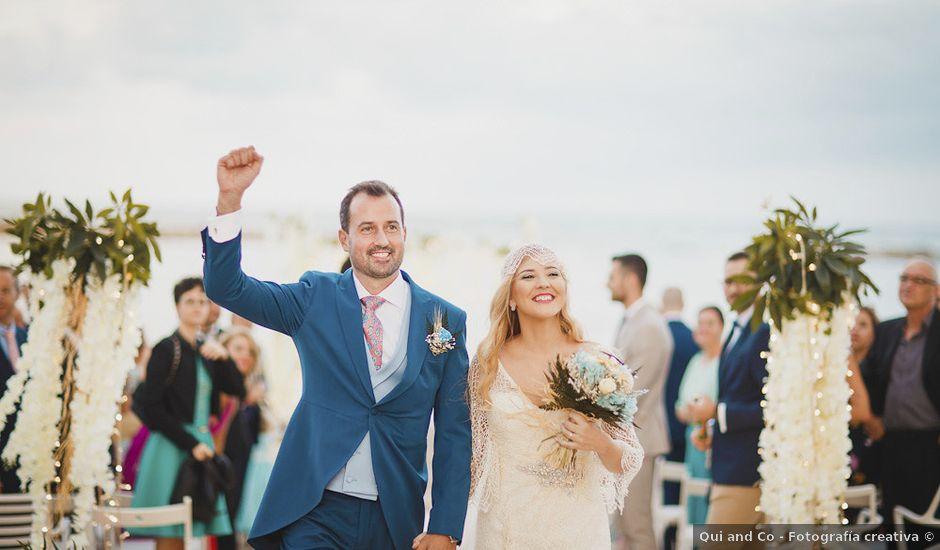 La boda de Antonio y Cristina en La Manga Del Mar Menor, Murcia
