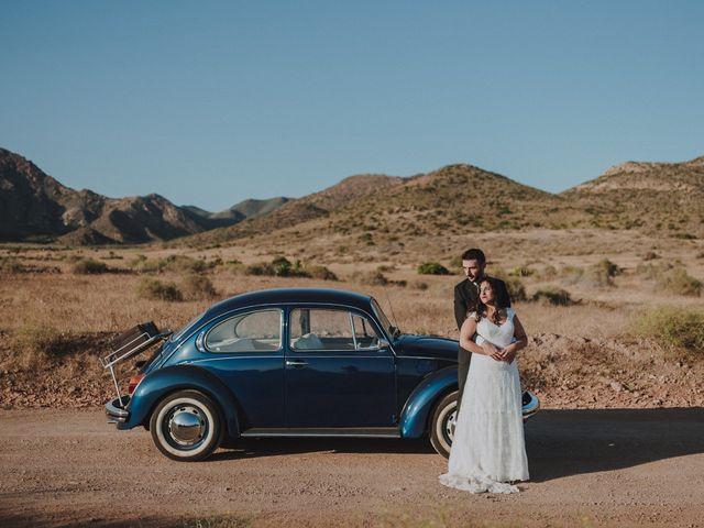 La boda de Ufa y Carmen en El Cabo De Gata, Almería 122