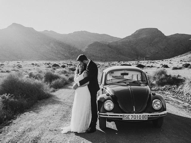 La boda de Ufa y Carmen en El Cabo De Gata, Almería 123