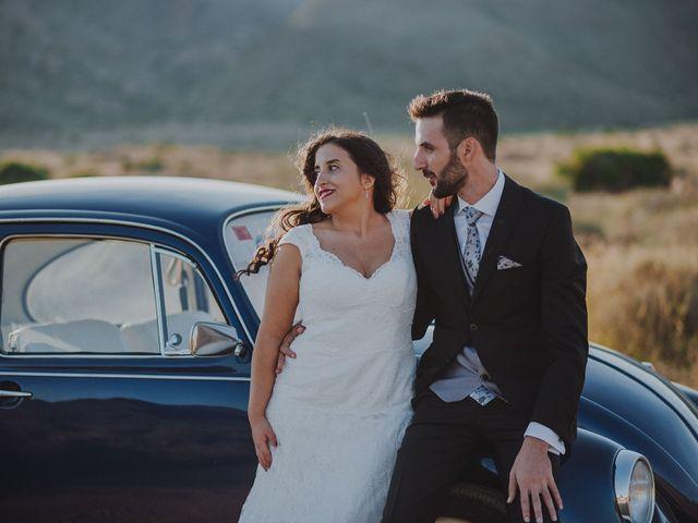 La boda de Ufa y Carmen en El Cabo De Gata, Almería 125