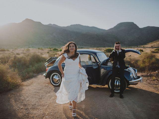 La boda de Ufa y Carmen en El Cabo De Gata, Almería 127