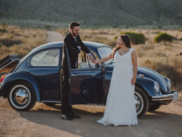 La boda de Ufa y Carmen en El Cabo De Gata, Almería 129