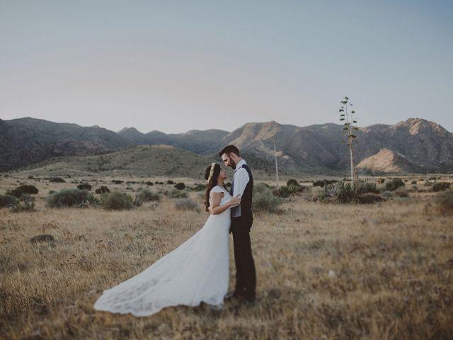 La boda de Ufa y Carmen en El Cabo De Gata, Almería 135