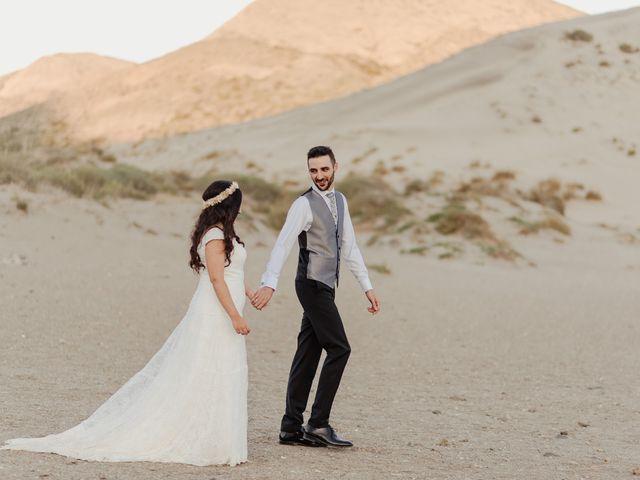 La boda de Ufa y Carmen en El Cabo De Gata, Almería 141