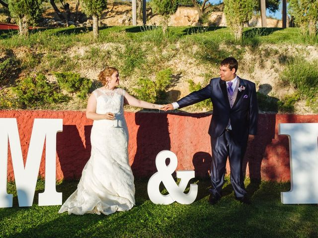 La boda de Miguel Ángel y Irene en Morata De Tajuña, Madrid 2