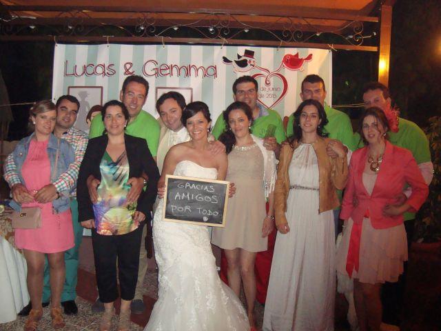 La boda de Lucas y Gemma en Alcala Del Valle, Cádiz 22
