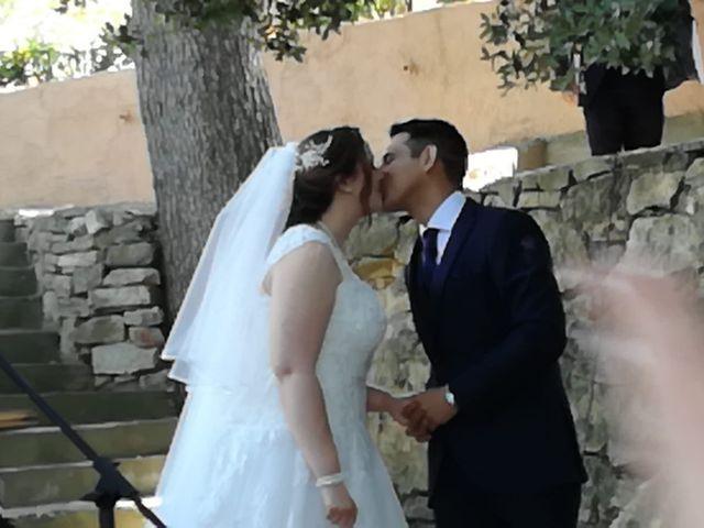 La boda de Leo y Rabea  en Cervello, Barcelona 1