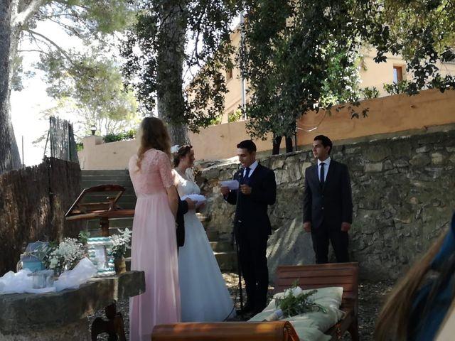 La boda de Leo y Rabea  en Cervello, Barcelona 2
