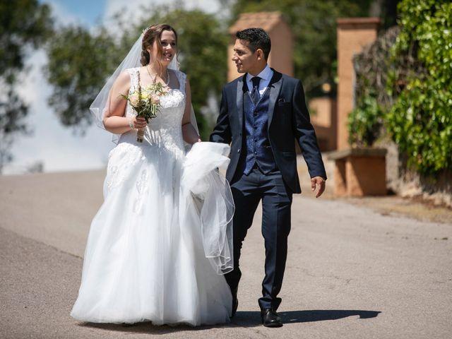 La boda de Leo y Rabea  en Cervello, Barcelona 12