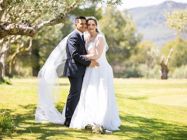 La boda de Rabea  y Leo