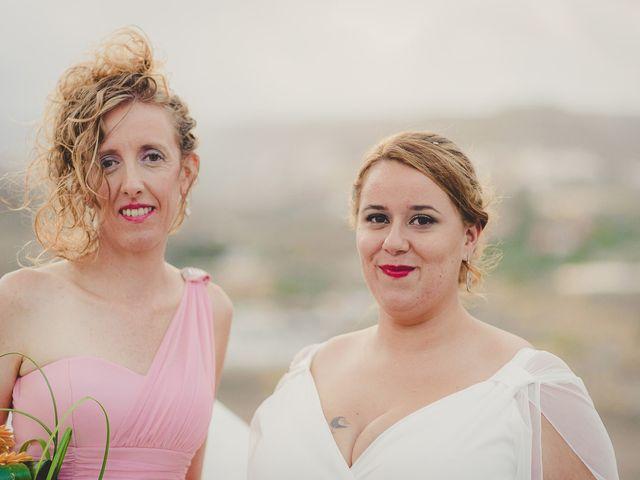 La boda de Zeneida y Cathaysa en Telde, Las Palmas 50