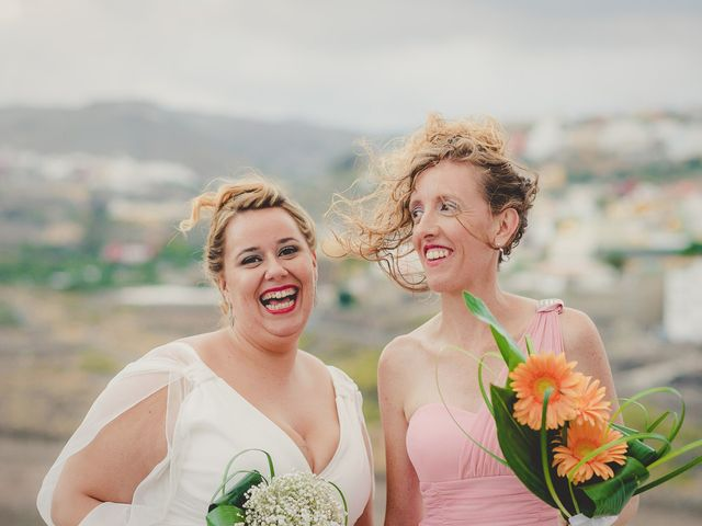 La boda de Zeneida y Cathaysa en Telde, Las Palmas 58