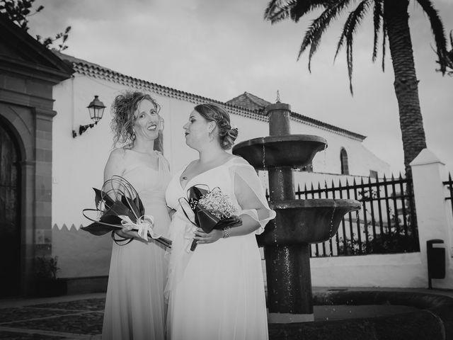 La boda de Zeneida y Cathaysa en Telde, Las Palmas 62