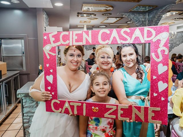 La boda de Zeneida y Cathaysa en Telde, Las Palmas 91