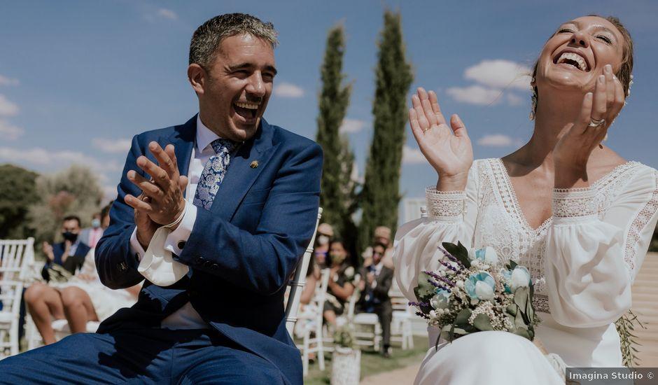 La boda de Ricardo y Isabel en Villahermosa, Ciudad Real