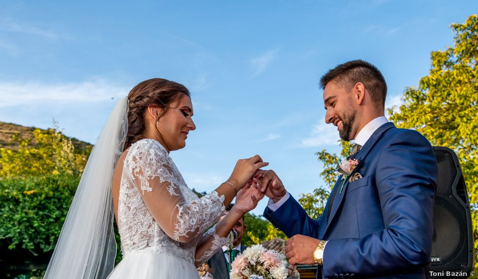 La boda de Fran y Marta en Iznalloz, Granada