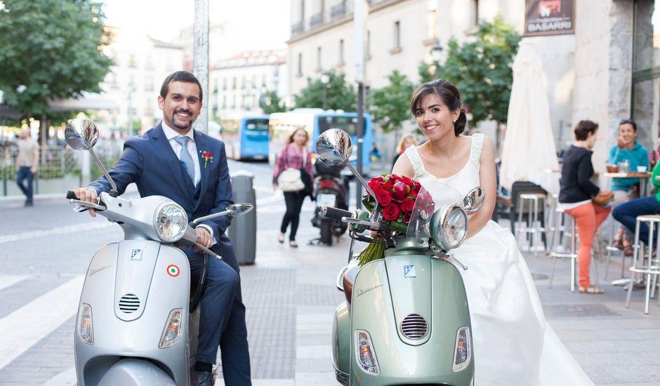 La boda de Pablo y Laura en Madrid, Madrid