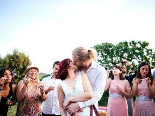 La boda de Ari y Mikkel