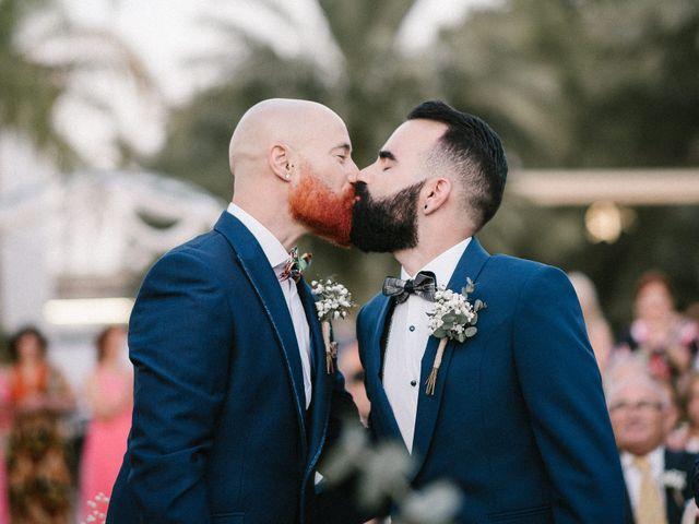 La boda de Antonio y Raúl