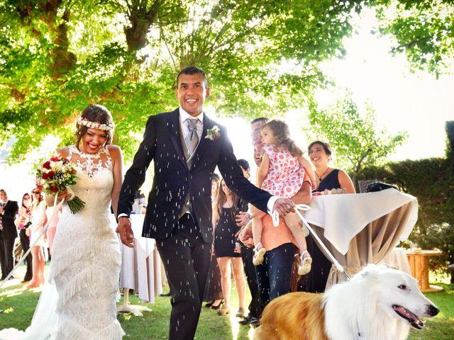 La boda de Mónica y Vicente