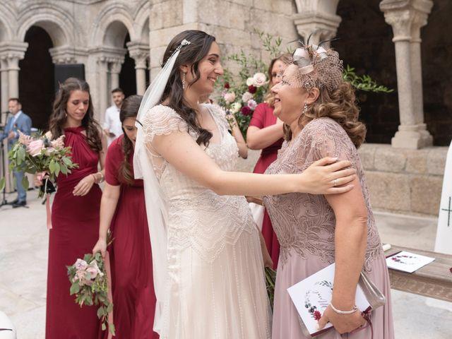 La boda de Daniel y Sara en Ourense, Orense 61