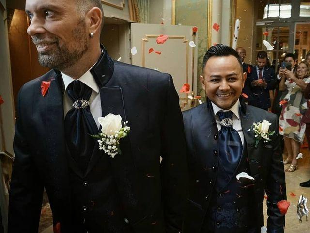 La boda de Francisco y Franklin