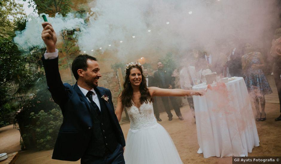 La boda de Albert y Judit en Arbucies, Girona