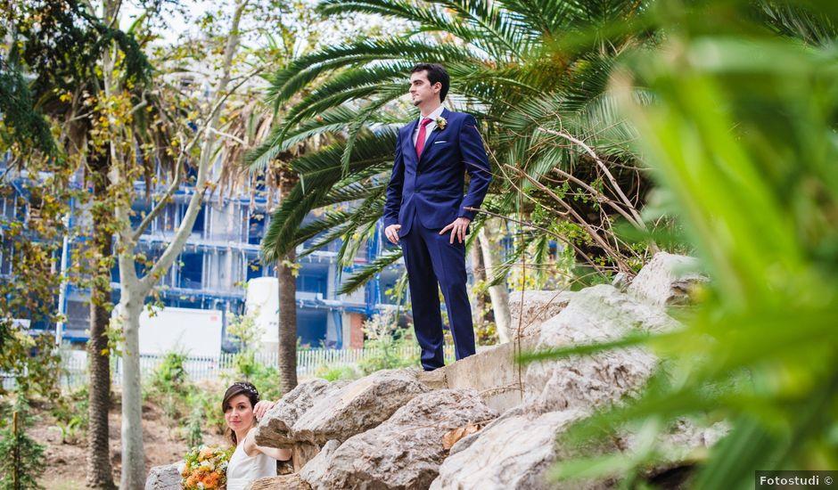 La boda de Albert y Arianna en Cornella De Llobregat, Barcelona