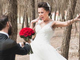 La boda de Mª Paz y Gustavo