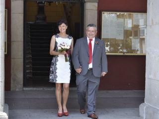 La boda de Antonio y Araceli