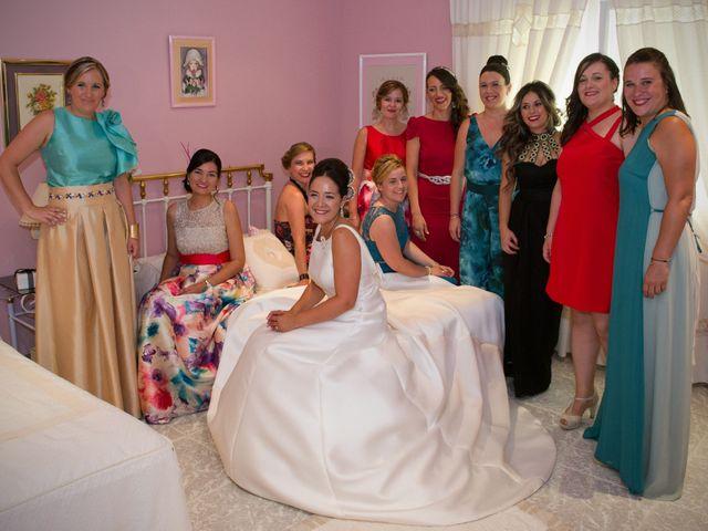 La boda de Alfonso y Paloma en Jarandilla, Cáceres 11