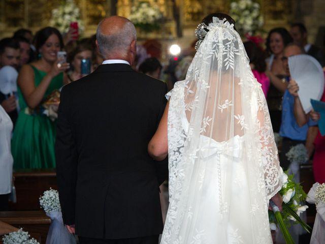 La boda de Alfonso y Paloma en Jarandilla, Cáceres 16