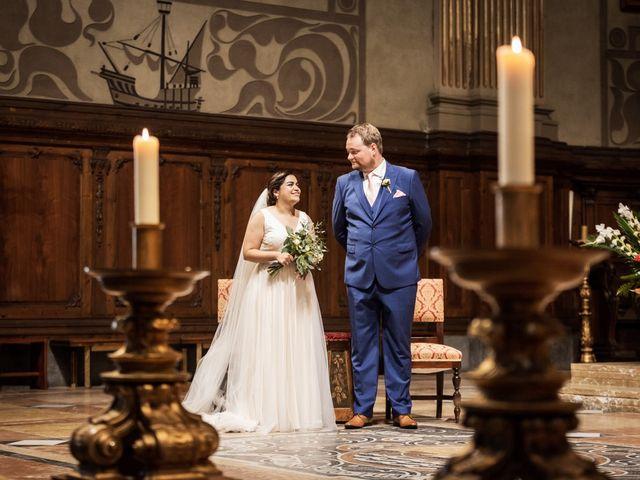 La boda de Harri y Fabiana en Mataró, Barcelona 35