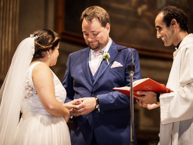 La boda de Harri y Fabiana en Mataró, Barcelona 41
