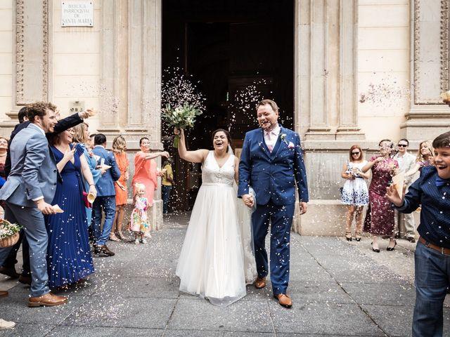 La boda de Harri y Fabiana en Mataró, Barcelona 45