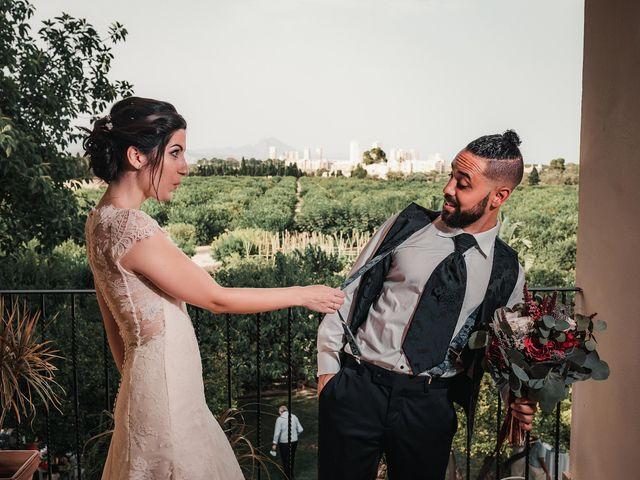 La boda de José y María en San Juan De Alicante, Alicante 173