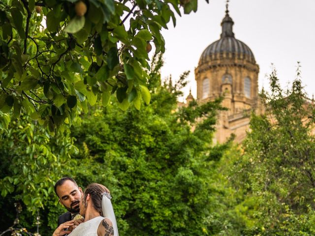 La boda de Amador y Paula en Salamanca, Salamanca 17