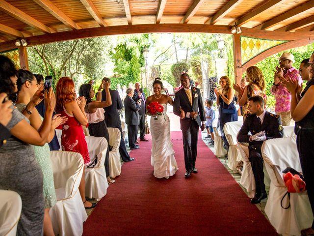 La boda de Jose Luis y Yanulka en Alcalá De Henares, Madrid 21