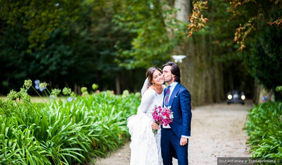 La boda de Carlos y Claudia en Las Fraguas, Cantabria