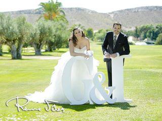 La boda de Iris  y Gabi