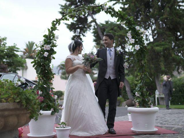 La boda de Daniel  y Jessica  en Tegueste, Santa Cruz de Tenerife 1