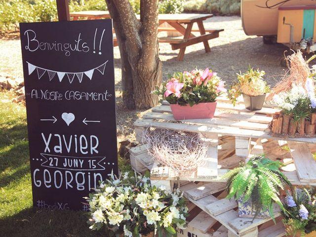 La boda de Xavier y Georgina en Bellpuig, Lleida 31