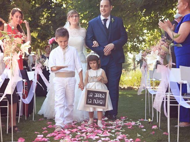 La boda de Xavier y Georgina en Bellpuig, Lleida 40