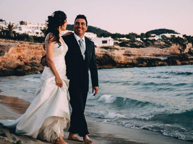 La boda de Julio y Inma en Santa Eularia Des Riu, Islas Baleares 3