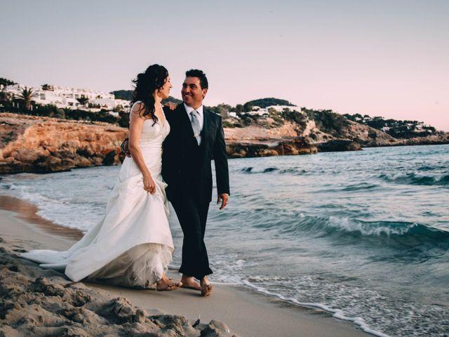 La boda de Julio y Inma en Santa Eularia Des Riu, Islas Baleares 4