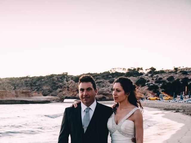 La boda de Julio y Inma en Santa Eularia Des Riu, Islas Baleares 12