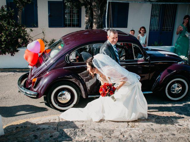 La boda de Julio y Inma en Santa Eularia Des Riu, Islas Baleares 33