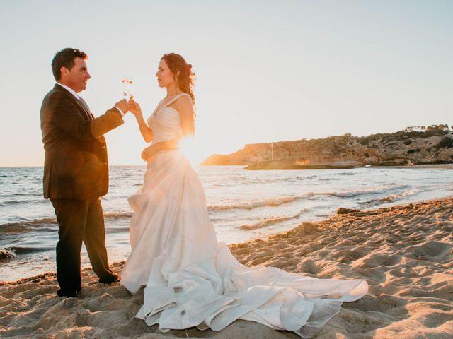 La boda de Julio y Inma en Santa Eularia Des Riu, Islas Baleares 100