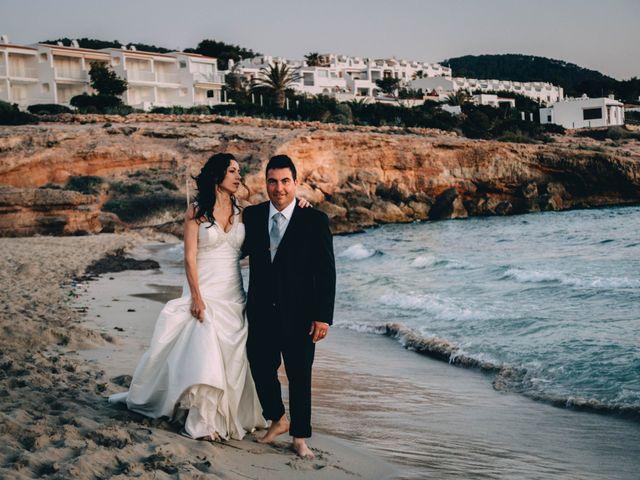 La boda de Julio y Inma en Santa Eularia Des Riu, Islas Baleares 120